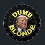 """Trump: Dumb Blonde Dart Board<br><div class=""""desc"""">We never thought it was very nice to call anyone a dumb blonde. But then Donald Trump opened his mouth...  (Photo credit: Gage Skidmore. Used with permission.)</div>"""