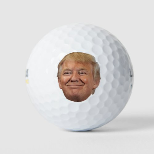 Trump face Golf Ball