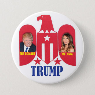 Trump First Family 2016 Pinback Button