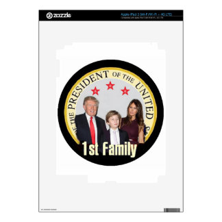 TRUMP First Family Decal For iPad 3