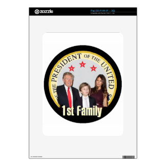 TRUMP First Family Decals For iPad
