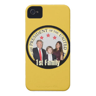TRUMP First Family iPhone 4 Case