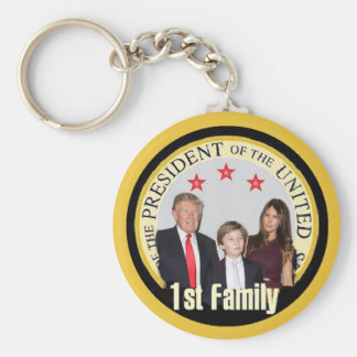 TRUMP First Family Keychain