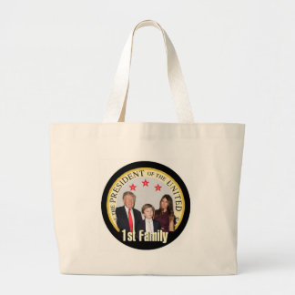 TRUMP First Family Large Tote Bag