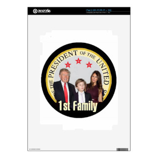 TRUMP First Family Skin For iPad 2