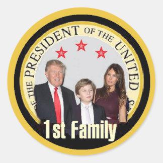 TRUMP First Family Sticker