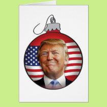 Trump for Christmas Card