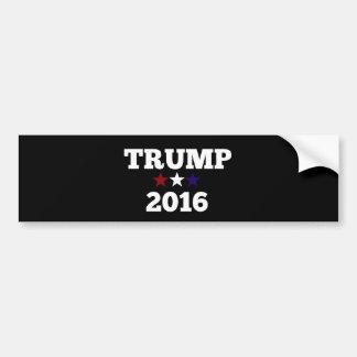Trump for President 2016 Car Bumper Sticker