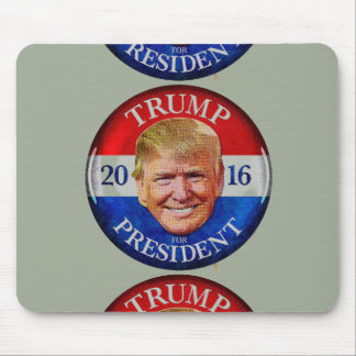 TRUMP FOR PRESIDENT 2016 MOUSE PAD