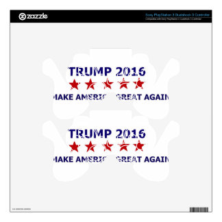 TRUMP FOR PRESIDENT 2016 PS3 CONTROLLER SKINS