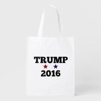 Trump for President 2016 Reusable Grocery Bag