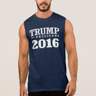 TRUMP FOR PRESIDENT 2016 SLEEVELESS SHIRT
