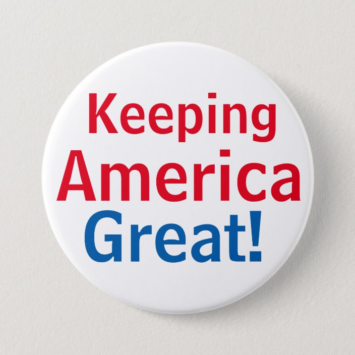 DONALD TRUMP FOR PRESIDENT 2020 KEEP AMERICA GREAT BUTTON PIN