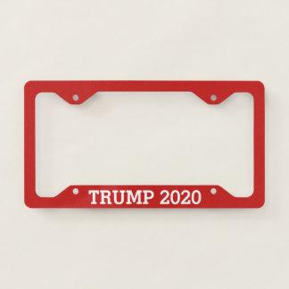 Trump for President 2020 License Plate Frame