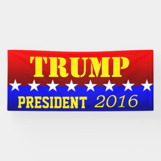 TRUMP for PRESIDENT Banner
