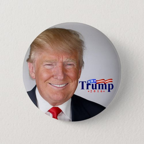 Trump for President in 2016 Pinback Button