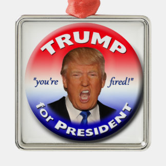 TRUMP for President Metal Ornament