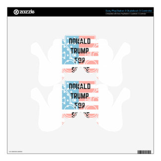 TRUMP FOR SPACE Illustration Humor Republicans PS3 Controller Decal