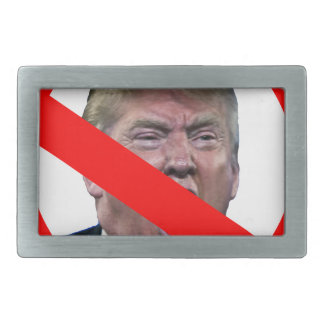 TRUMP FREE: Make America Trump Free Again! Belt Buckle