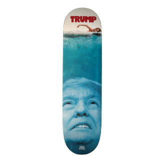 Trump from Below Liberty Maniacs Skateboard Decck
