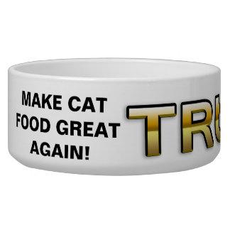 Trump Golden Patriot 2016 cat bowl