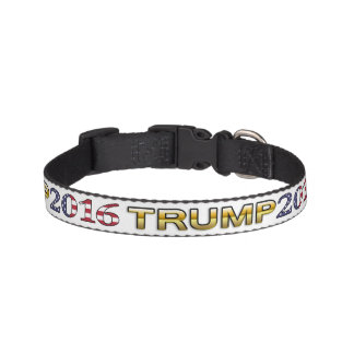 Trump Golden Patriot 2016 dog collar