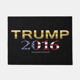 Trump Golden Patriot 2016 door mat (dark)