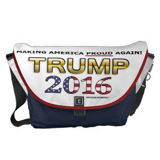 Trump Golden Patriot 2016 large messenger bag