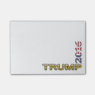 Trump Golden Patriot 2016 Post-it® Notes