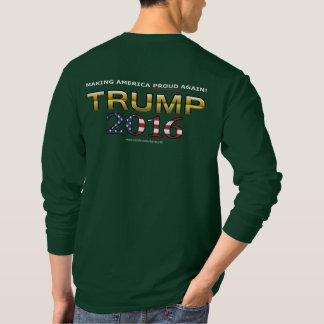 Trump Golden Patriot 2016 shirt (dark)