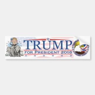 Trump GOP Elephant Tour Car Bumper Sticker