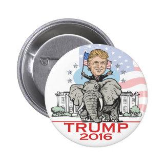 Trump GOP Elephant Tour Pinback Button