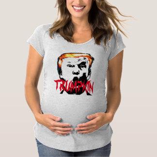 TRUMP HALLOWEEN MATERNITY T-Shirt