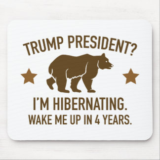 Trump Hibernation Mouse Pad