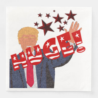 Trump HUGE Party Celebration Dinner Paper Napkins