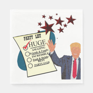 Trump HUGE Party Celebration Paper Napkins