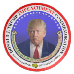 Trump Impeachment Commemorative Plate