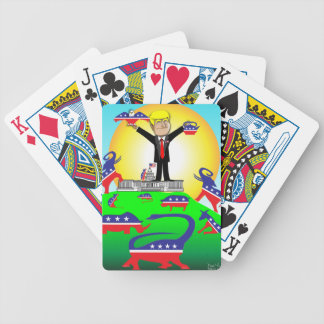Trump Inauguration 2 Bicycle Playing Cards