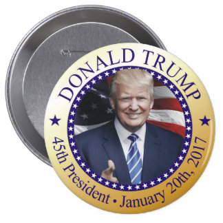 Trump Inauguration Button