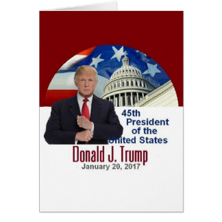 TRUMP Inauguration Card