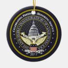 TRUMP Inauguration Ceramic Ornament