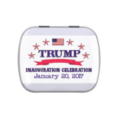 Trump Inauguration Jelly Belly Candy Tin at Zazzle