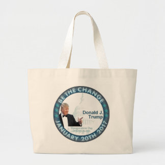 TRUMP Inauguration Large Tote Bag