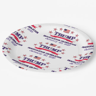 Trump Inauguration Paper Plate
