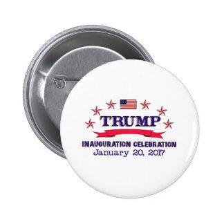 Trump Inauguration Pinback Button