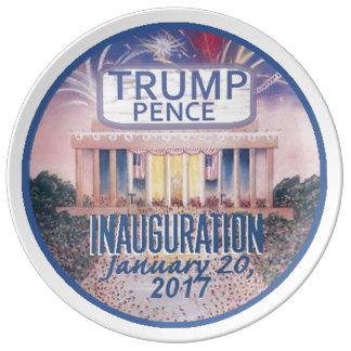 TRUMP Inauguration Plate