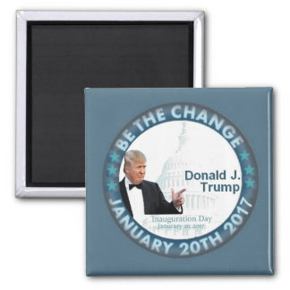 TRUMP Inauguration Sguare Magnet