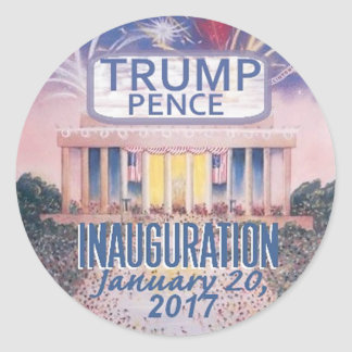 TRUMP Inauguration Sticker