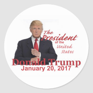 TRUMP Inauguration Sticker