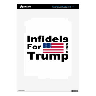 Trump infidels skin for iPad 3